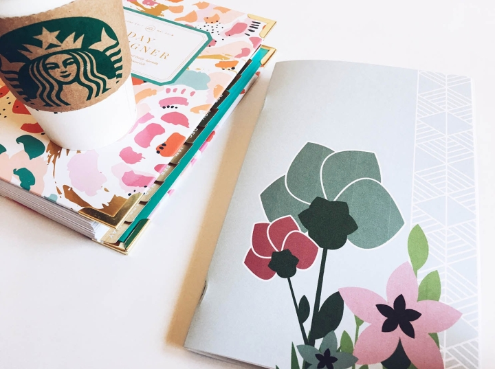 Juneberry Geo Floral Stickerbook