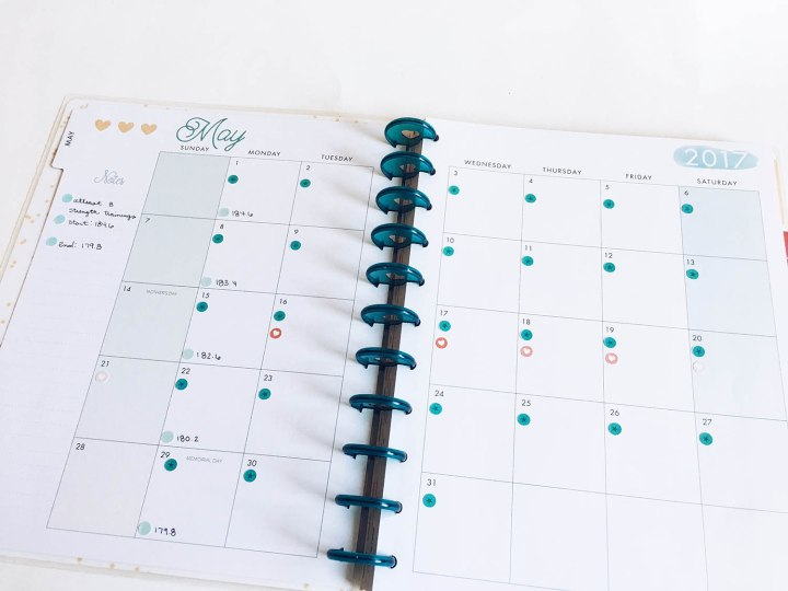 Happy Planner May Monthly