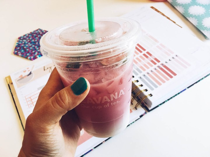 Starbucks Pink Ombre Drink