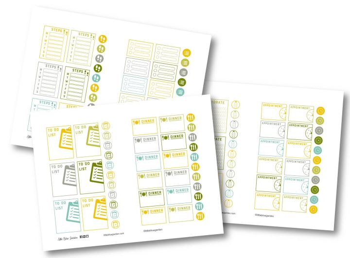 Design Spotlight Tuesdays: Sun Kissed Fields Simply Functional Sticker Book