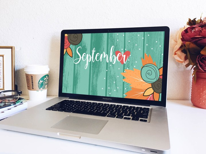 September Floral Wallpapers